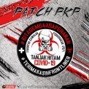 Tanjak Hitam – 'Terima Kasih Frontliner PKP' patch