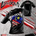 T-Shirt LOCKDOWN_ Covid 19 #kitasemuaadaperanan